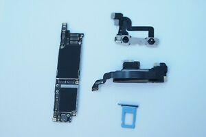 OEM-Apple-iPhone-XR-64GB-Blue-Sprint-Main-Logic-Board-Motherboard-IC-on-Clean