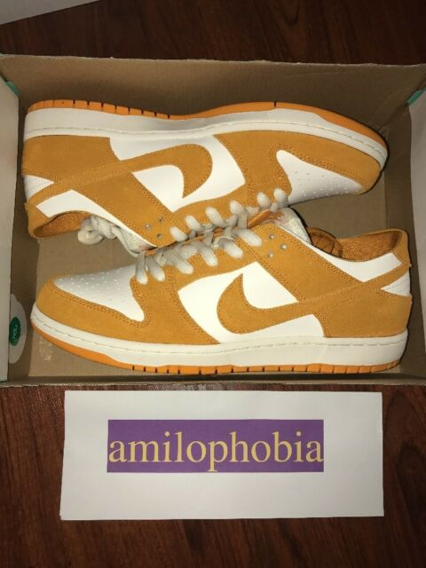e93d05c8f205 ... closeout new mens nike sb zoom dunk low pro size 10.5 circuit orange  skateboarding shoes 8ad3e