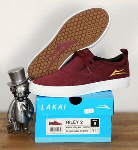 Lakai-Footwear-Skate-Schuhe-Shoes-Riley-Hawk-2-Burgundy-Suede-13-48-5