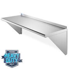 Nsf Stainless Steel 12x36 Wall Shelf 16ga Commercial Kitchen Restaurant Shelving