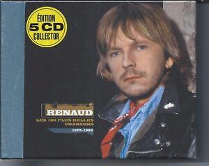 Renaud-Les-100-plus-belles-chansons-Coffret-Collector-5-CD-NEUF-sous-cellophane