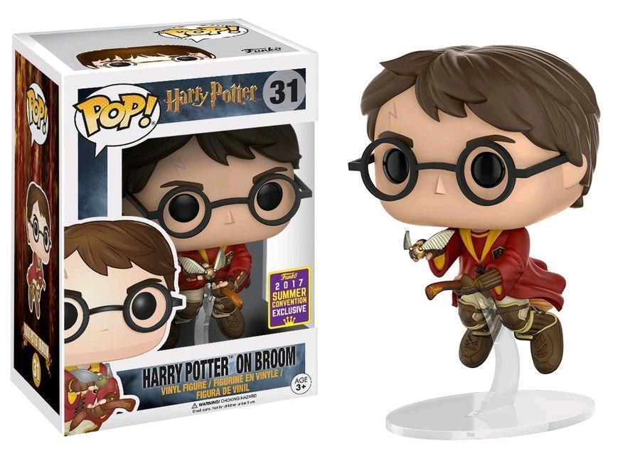 Diverdeimentoko Harry Potter  POP Vinile cifra Harry sulla Scopa 9 cm Scatola Rovinata  sconto prezzo basso