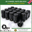 Black-Wheel-Nuts-20x-M12X1-5-For-Land-Rover-Freelander-1998-06 thumbnail 1