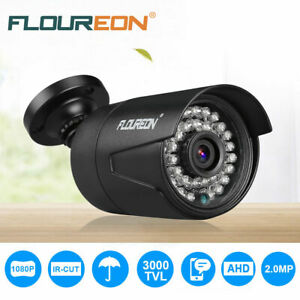 FLOUREON-CCTV-DVR-Security-Camera-IR-CUT-Night-Vision-12V-1080P-3000TVL-2-0MP-AU