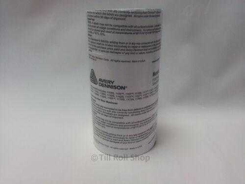inc 4 x Ink Rollers FOC 40,000 Monarch Paxar 1131 Price Gun Labels White Peel