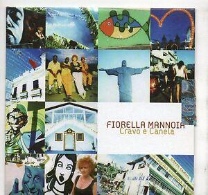 FIORELLA-MANNOIA-CD-single-PROMO-1-tr-MILTON-NASCIMENTO-Cravo-e-Canela-ITALY