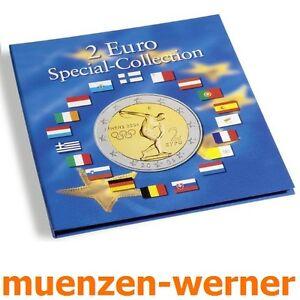 Muenzalbum-Leuchtturm-Muenzenalbum-fuer-57-2-Sondermuenzen-Euro-Muenze-Sammelalbum