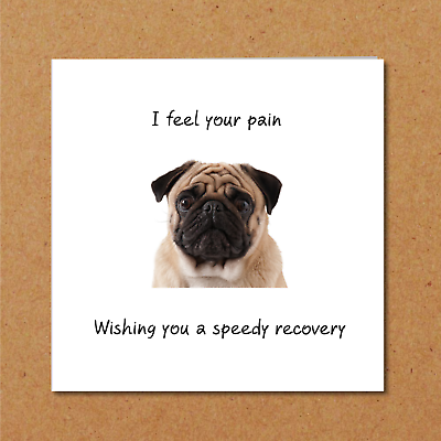 Get Well Soon Card Feel Better