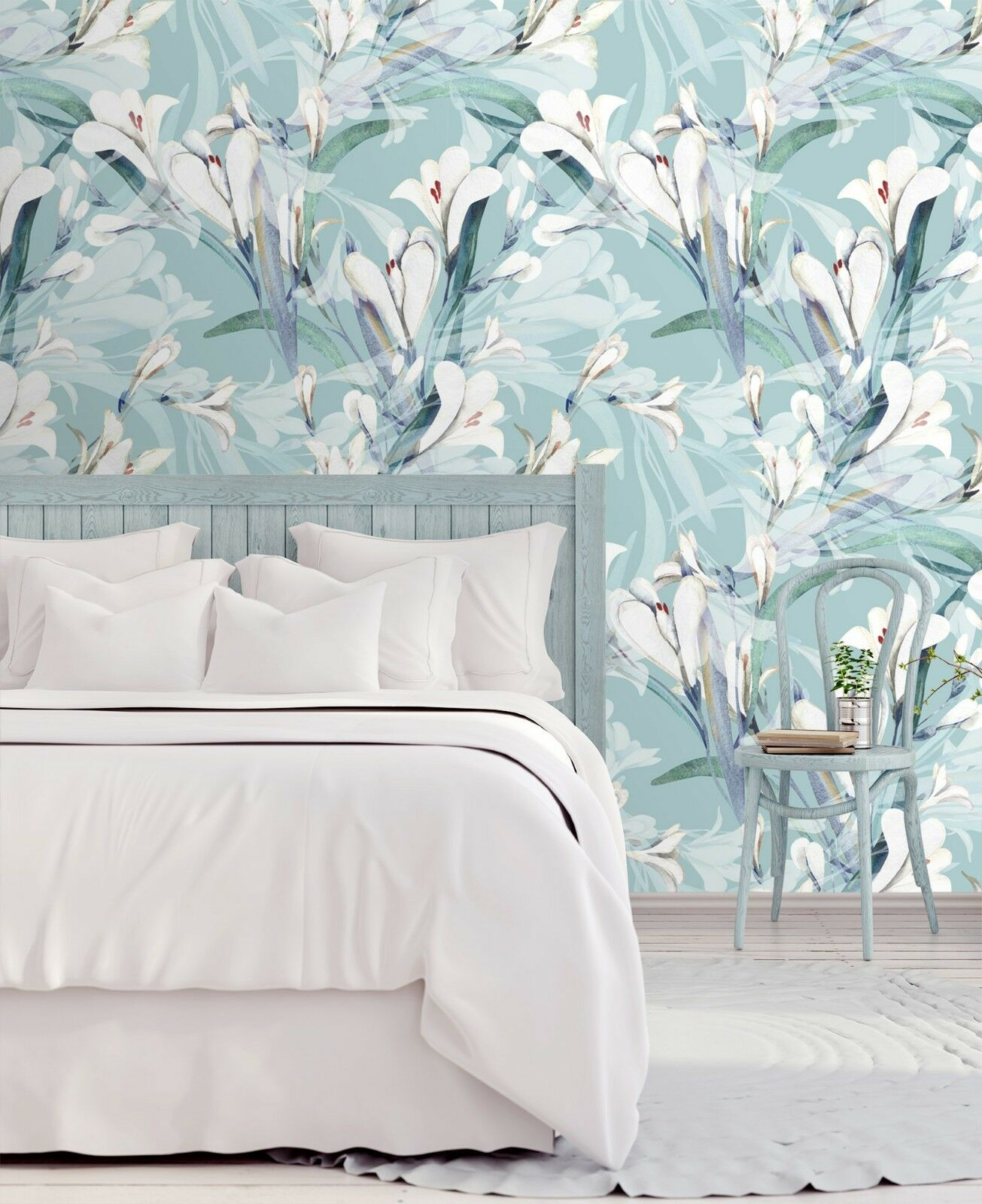 3D Grün Flower 78 Wall Paper Print Wall Decal Deco Indoor Wall Murals US Summer
