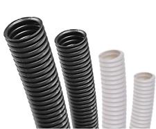 Conduit Split Black & White Flexible Cable Tidy Tube Trunking easy use
