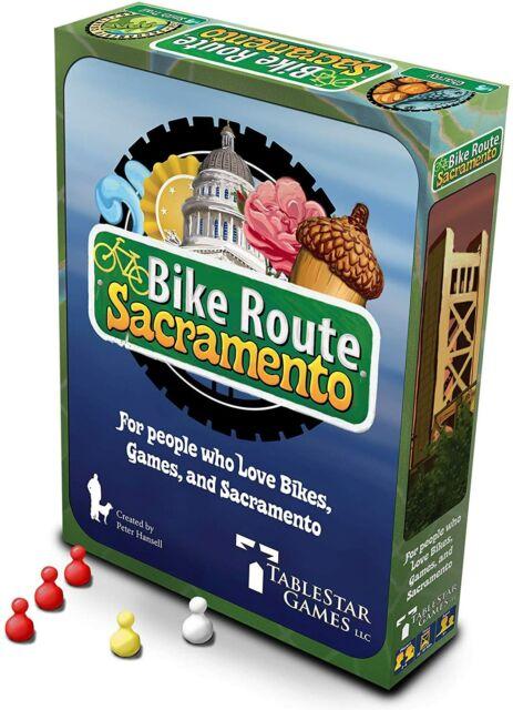 Bike Route Sacramento Board Game Tablestar Games NEW