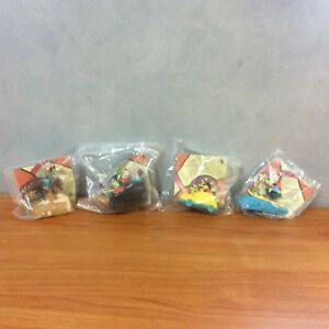 Burger-King-1995-Lot-of-4-Disney-Goofy-amp-Max-039-s-Adventure-Toys-from-Movie-New