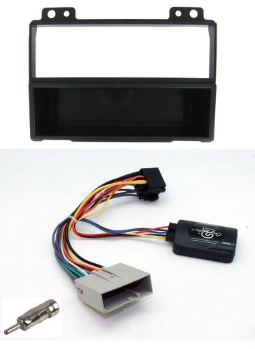 Ford Fiesta Mk6 02-05 Radio single DIN Instalación Facia Kit y tallo de control