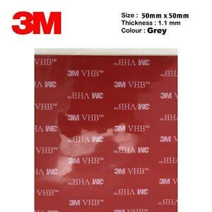 5/10 pezzi 50x50mm 3M™ 5952 biadesivo VHB a schiuma acrilica originale!!!