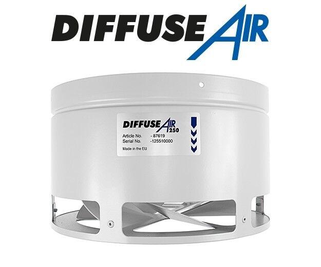 Systemair diffuseair 250 10  la circulación de aire 10 in (approx. 25.40 cm) 250 mm difusor G.A.S