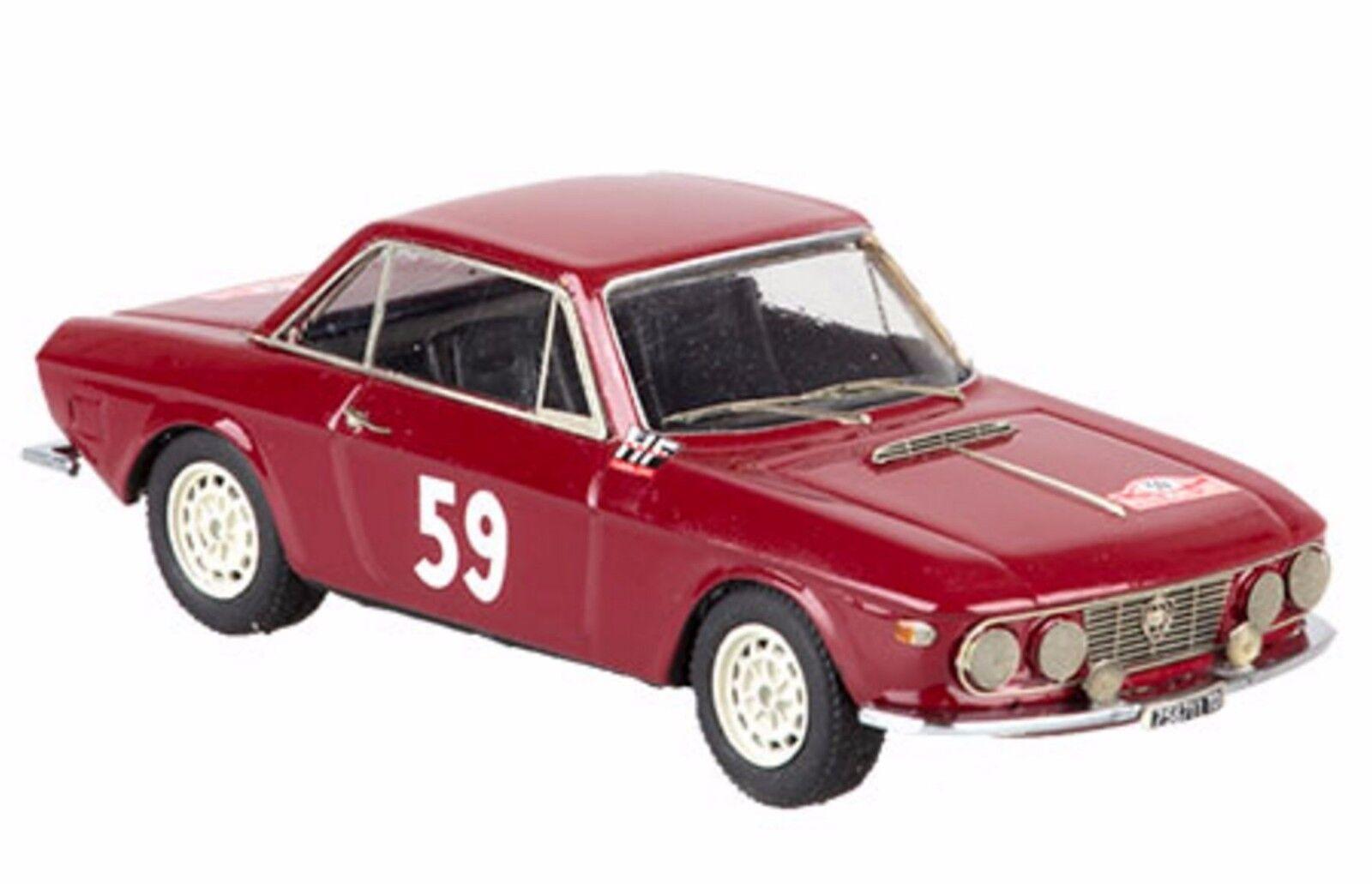 Kit Lancia Fulvia Coupè  59 Rally Montecarlo 1966 - Emmebi Modells kit 1 43