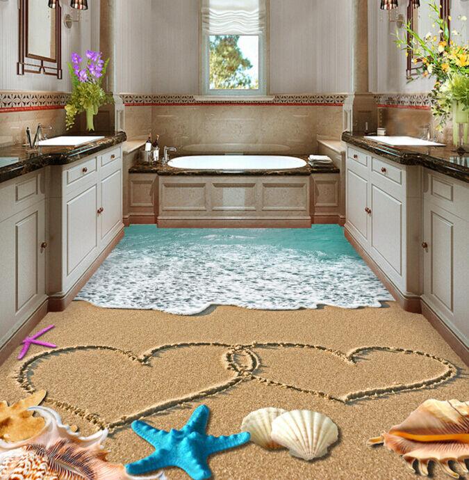 3D Romantische Strand 4555 Fototapeten Wandbild Fototapete BildTapete Familie DE