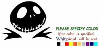 Jack Nightmare Before Christmas Adhesive Vinyl Decal Sticker Car Truck Window 7