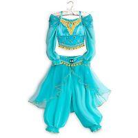 Disney Store Jasmine Aladdin Genie Dress Up Costume Halloween Size 3 Retired