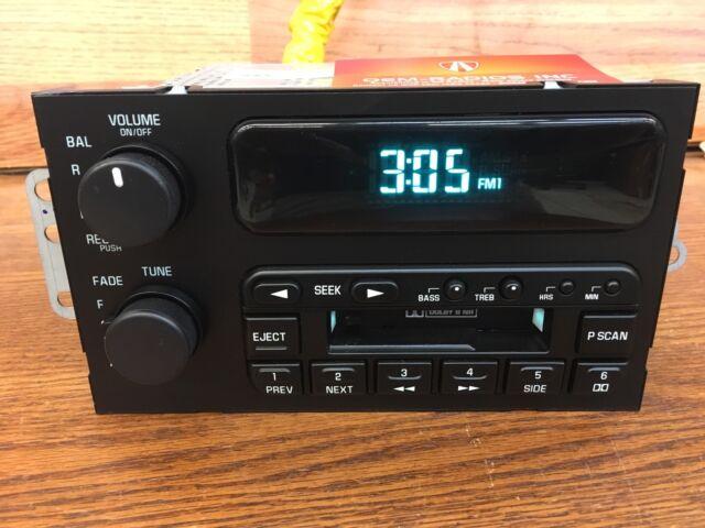 Oem 19952002 Buick Century Roadmaster Regal Riviera Cassette Tape Rhebay: Buick Century Radio 2002 At Gmaili.net