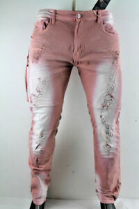 Zippers Blush W Rise Men Distressed Twill Pants Smoke Jp7119 xYqappU