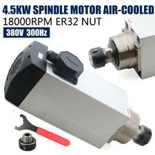 45kw Air Cooled Spindle Motor 129 For Cnc Router Milling Engraving Us New