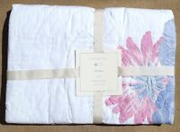 "Pottery Barn Kids Emma Crib Toddler Quilt 36"" X 50"" Pink / Purple"