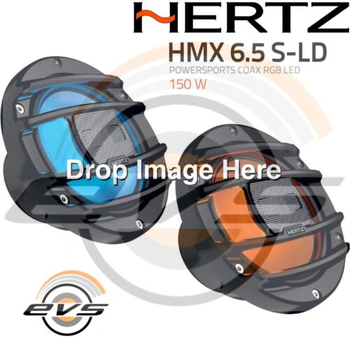 HERTZ HMX 6.5-LD con LED* Cp Altoparlanti Casse 165mm BARCA NAUTICA MARINE SPORT