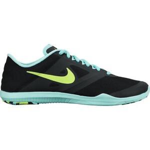 Da Donna Nike Studio Trainer 2 NERO Scarpe da ginnastica 684897 007 UK 8 EU 42.5