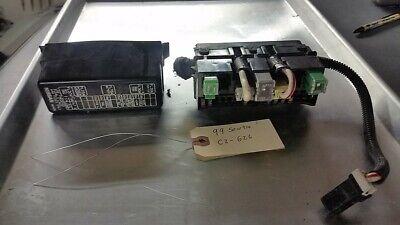 95 96 97 98 99 1995 1996 1997 1998 1999 Nissan Sentra Caja de fusibles  junto a la batería | eBay | 97 Sentra Fuse Box |  | eBay