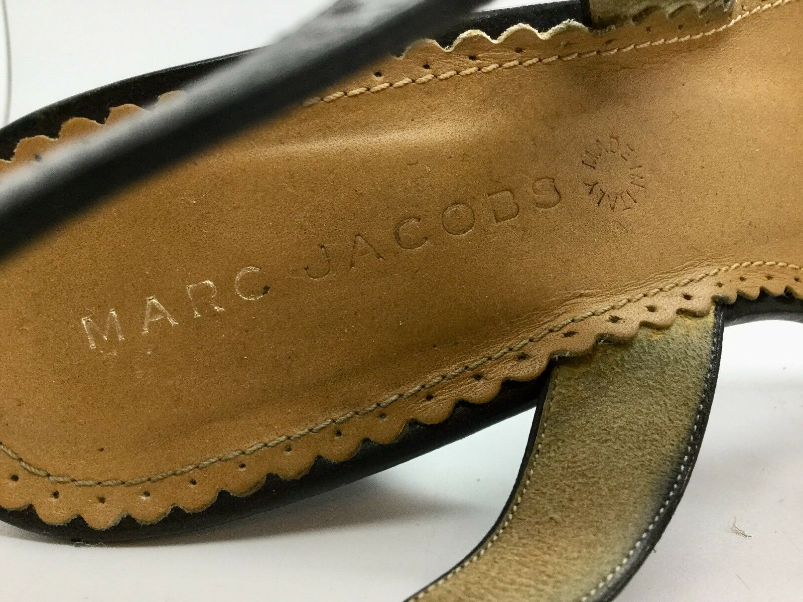 AUTHENTIC MARC JACOBS Multi Farbe Polka Dot Heeled Sandale Gre 7.5