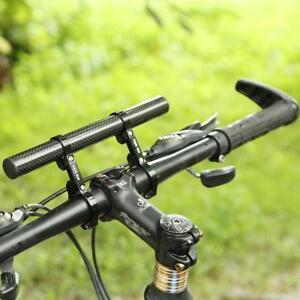 Bicycle-Handlebar-Extended-Bracket-Headlight-Mount-Dual-Bar-Computer-Lamp-Holder