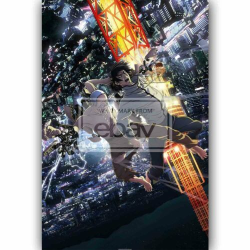 New Inuyashiki Custom Silk Poster Wall Decor