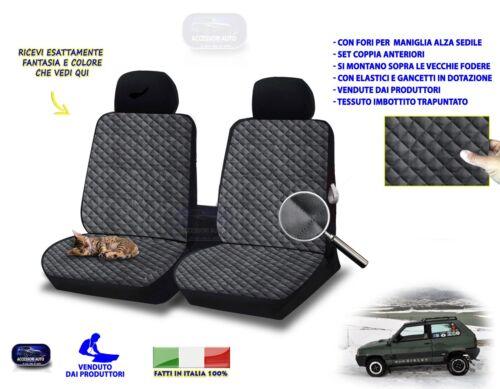 Coprisedili per Fiat Panda Sysley fodere 2 per sedili auto anteriori set coppia