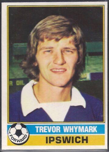 TOPPS-FOOTBALL -#131- IPSWICH TREVOR WHYMARK RED BACK 1977