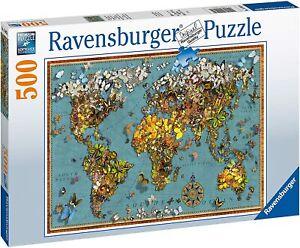 Ravensburger Jigsaw Puzzle WORLD OF BUTTERFLIES - 500 Pieces