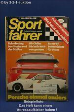 Sportfahrer 1/82 EVEX Porsche Fiat Ritmo 125 TC Abarth