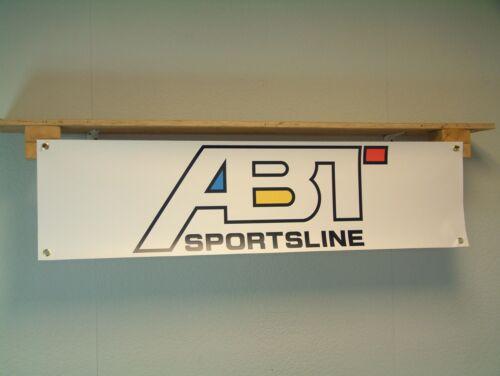 ABT sportsllne Banner Workshop Garage VW Audi vehicle Tuning Advertising Display