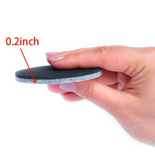36pcs Rubber Furniture Shockproof Footpad Black For Cabinets,Chairs #HN