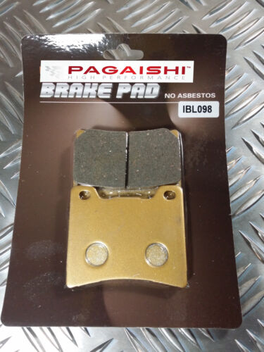 SEMI METAL REAR BRAKE PADS FOR YAMAHA XJR 1300 M 5EAA//5EAB//5EAC 00 R
