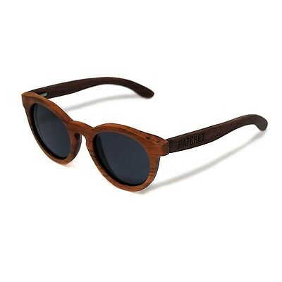 Understudy Black Walnut Vintage Style Wood Sunglasses Hatchet Eyewear Free USPS