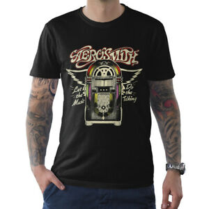 Aerosmith-Vintage-T-Shirt-Rock-Band-Tee-Men-039-s-All-Sizes