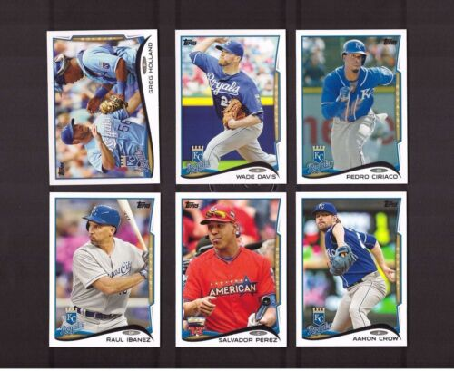 2014 Topps KANSAS CITY ROYALS Team Set 1 /& 2 with Update 27 Cards NM//MT /& MINT