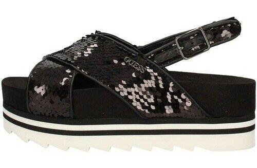 GUESS. Sandalo nero con paillettes. Numero Numero Numero 37. 11d132