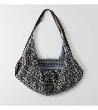 American Eagle- AEO Textured Cradle Bag- Blue Multicolored- NEW