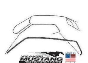 Mustang Roof Emblem Fastback Pair 1969 Daniel Carpenter