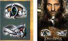 Men Classics film Lord of the Rings LOTR Crystal Ring Aragorn's Ring of Barahir