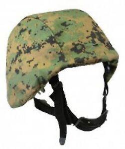 Funsport Nato-shop Vornehm Pasgt Woodland Digital Helmet Army Usmc Helm Cover Tarnbezug Helmbezug