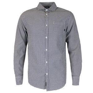 Armani-Jeans-Nero-Bianco-Check-Camicia-Taglia-M-NUOVO-CON-ETICHETTE-RRP-120