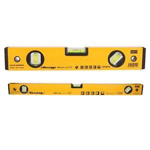 """12"""" & 24"""" 2pc Set Of Aluminium Scaffolding Builders Spirit Level Handheld Level Saveur Aromatique"""